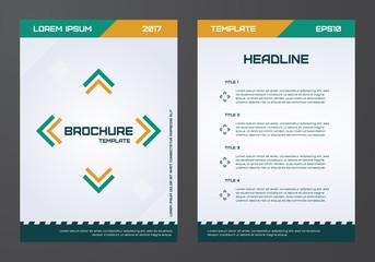 brochure template, flyers, leaflets, letters, advertisements