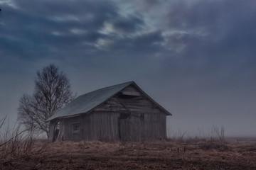 Ghostly Barn House
