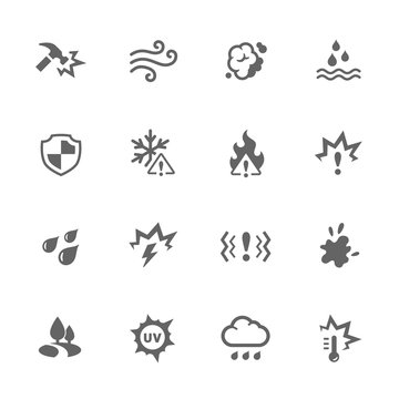 Simple Influence Icons