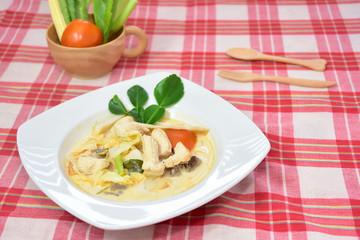 Chicken Coconut Sour Soup