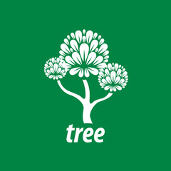 vector logo tree