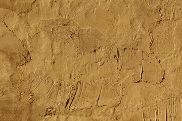 Abstract orange cement wall texture.