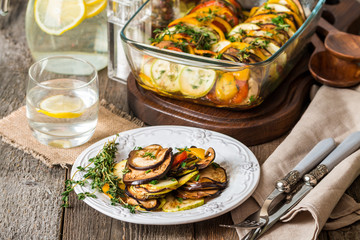 Famous French dish from Provence - Vegetable Ratatouille