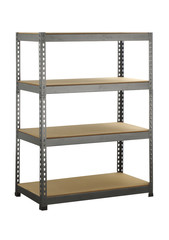 Metal industrial storage shelves