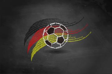 Fußball - Tafel