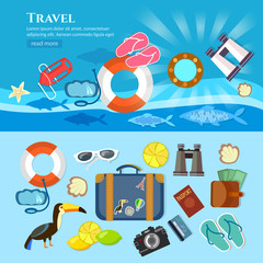 Travel tourism world tour summer vacation