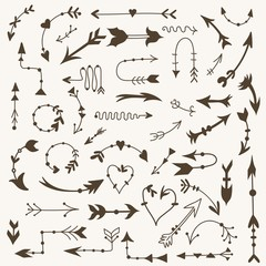 Vector Tribal Arrow Signs