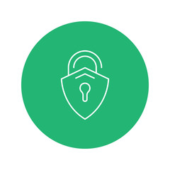 Flat Icon Payment and security