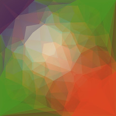 Abstract low poly background for mobile apps, wallpapers. Geometric triangular low polygonal style background. Vector graphic illustration. Design template. Creative mockup. Business template.