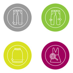 Vector icon Laundry and Clothes