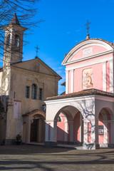 Churches in Barolo, Italy