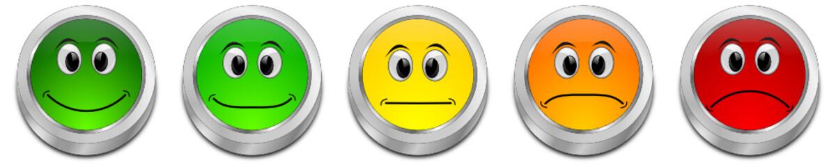 Voting Button - 3D illustration