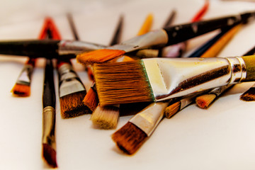 Brushes for painting white background