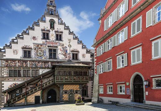 Town Hall at Lindau, Bodensee