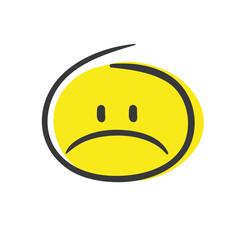 Stick Figure Series Emoticon / Trauer
