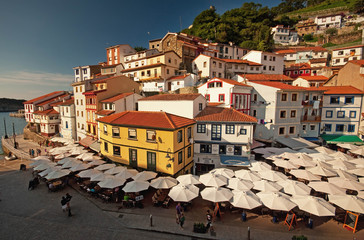 Old town of Cudillero, Spain