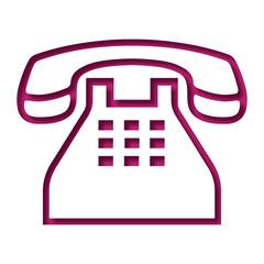 Logo téléphone.