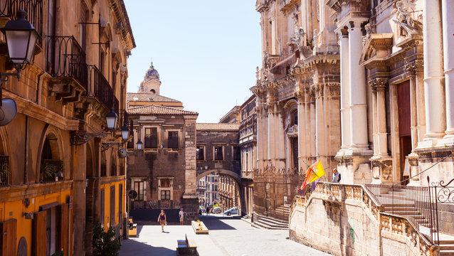 Via dei Crociferi, Catania
