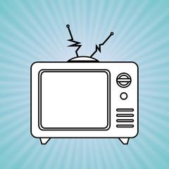 tv retro design