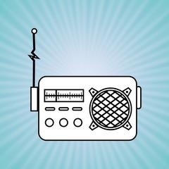 radio retro design