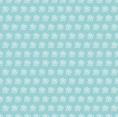 seamless pattern summer cute Daisy
