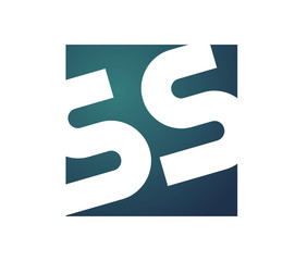 SS Initial Logo for your startup venture
