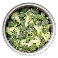 Vegetable. Broccoli slice.