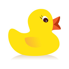 Yellow duck icon