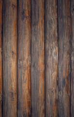 Стена из сосновых брёвен. Натуральная древесина