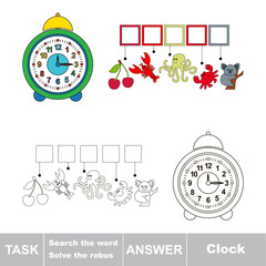 Search the word Clock