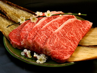 Japanese Wagyu Beef, Hida beef : 飛騨牛ステーキ
