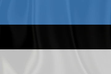 Estonia Texture Flag