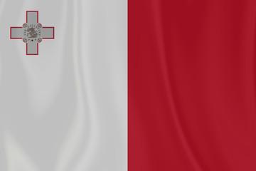 Malta Texture Flag
