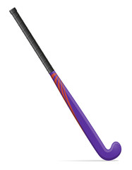 field hockey stick vector illustration