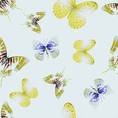 butterfly seamless 01 lith