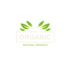 Leaf Crown Organic Product Logo