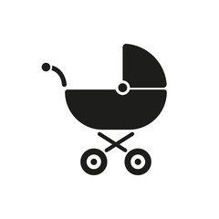 Pram icon. Baby buggy vector design. Baby carriage symbol. web. graphic. JPG. AI. app. logo. object. flat. image. sign. eps. art. picture