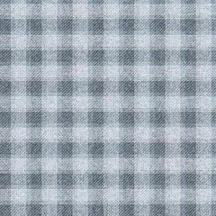 Seamless textured tartan. Dark gray cells on a light background.