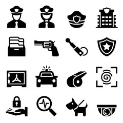 Police & Security guard icon