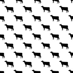 Cow pattern seamless