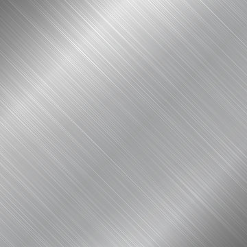 Polished metal texture background