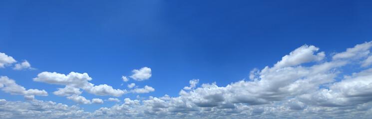 blue sky with cloud closeup,Panorama blue sky with cloud backgro