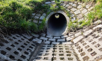 Entwässerungskanal
