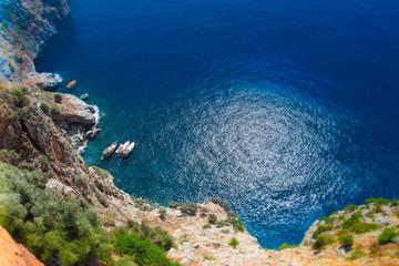 Obraz Alanya Morze Śródziemne - fototapety do salonu