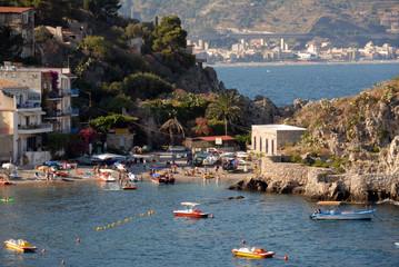 Italien Bucht von Taormina