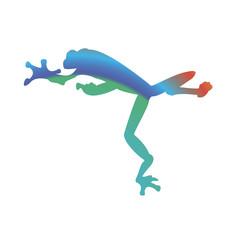 Tree Frog Vector Illustration