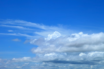 blue sky clouds,Blue sky with clouds.