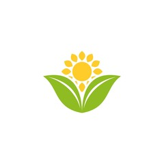 Green Oats Logo