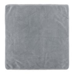 gray fabric  isolated