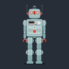 toy vintage robot
